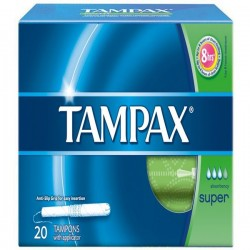 Tampons hygiéniques Tampax Super