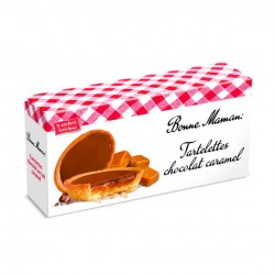 Tartelette chocolat au lait caramel Bonne Maman