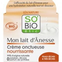 Crème visage lait d'ânesse BIO
