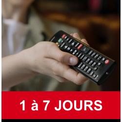 Abonnement TV 1 journée