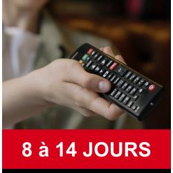 Abonnement TV - 8 à 14 journées