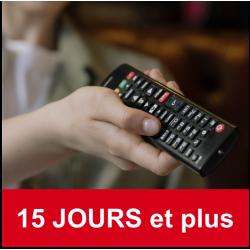 Abonnement TV - 15 journées et plus